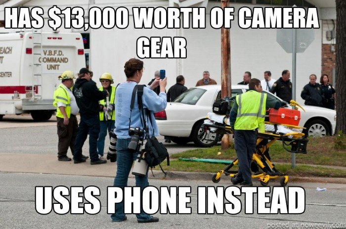 13000 photo gear uses phone