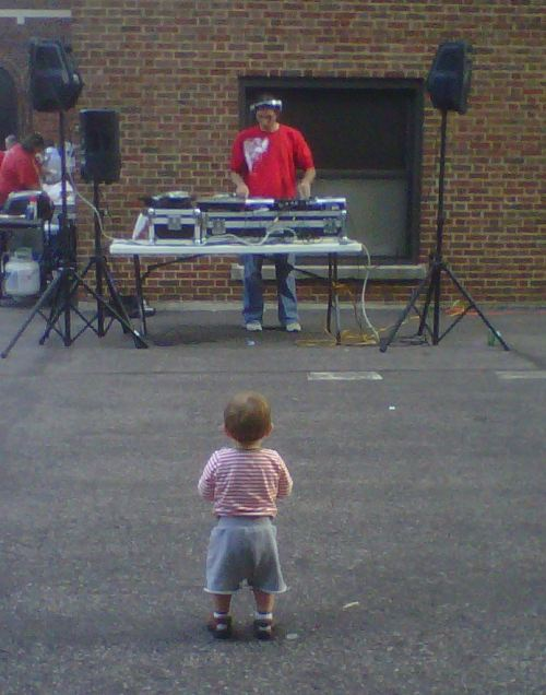 baby and dj