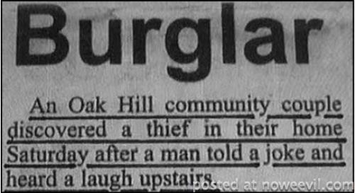 burglar joke