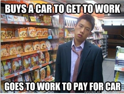 buy car for work