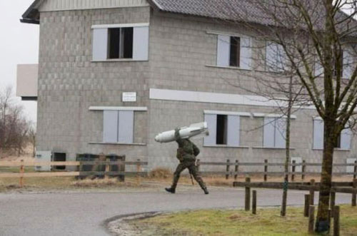 carrying a missile