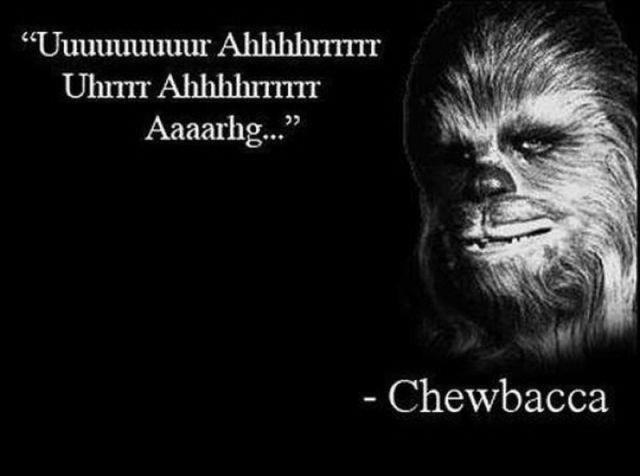 chewbacca quote