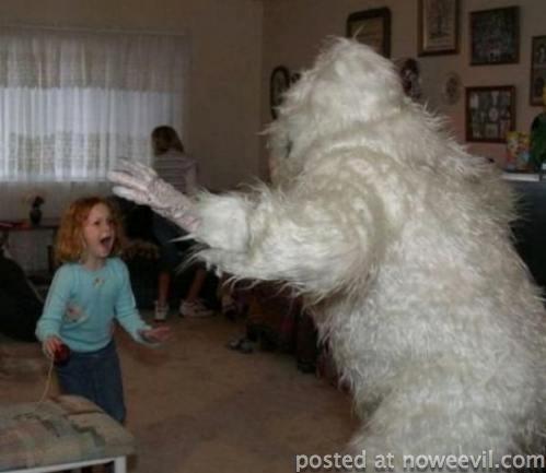 costume scare