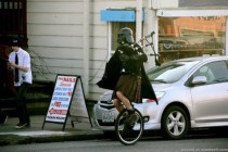 darth vader on unicycle
