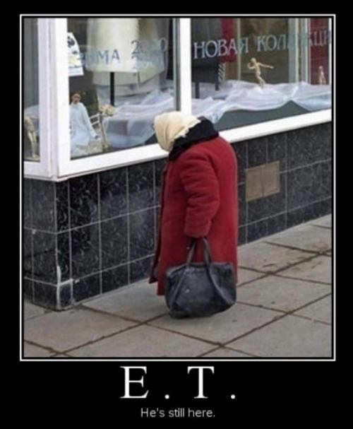 et is still here