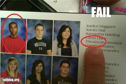 Funny Yearbook Names: Funny Names! (11 Photos)