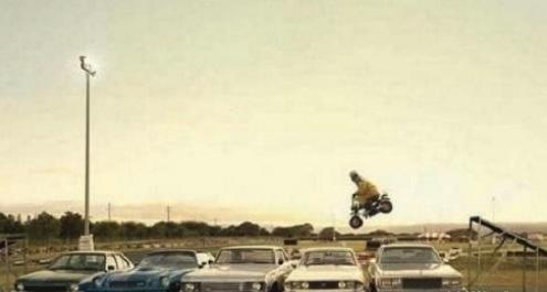 guy jumping car fail