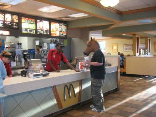 horse head in macdonalds
