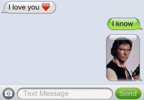 i love you text