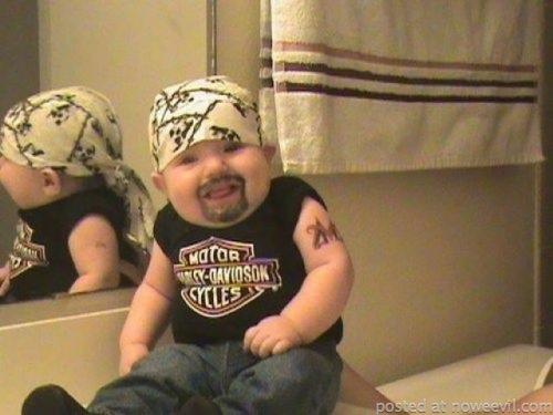 kid as biker