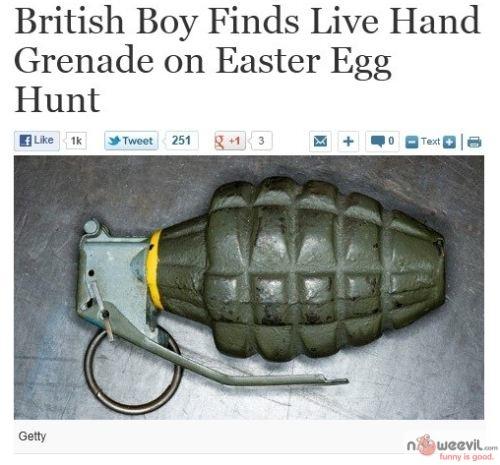 live hand grenade