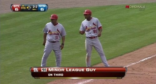 minor league guy