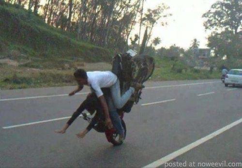motorcylce flip