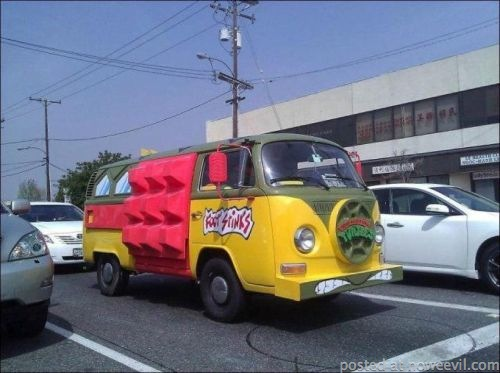 ninja turtles van