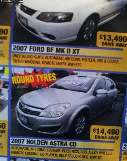 round tires