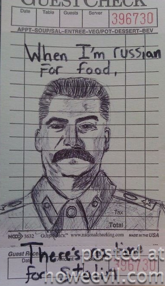 russian and stalin food 6.18.38 PM