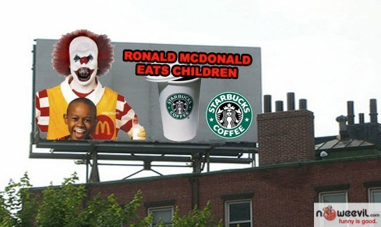 silly ad mcdonalds