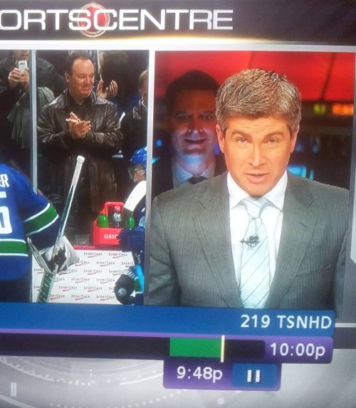 sportscentre photobomb