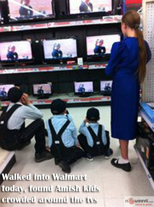 amish and tv