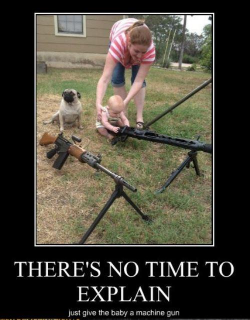baby machine gun