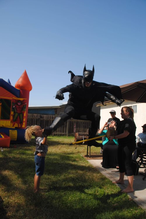 batman jumping