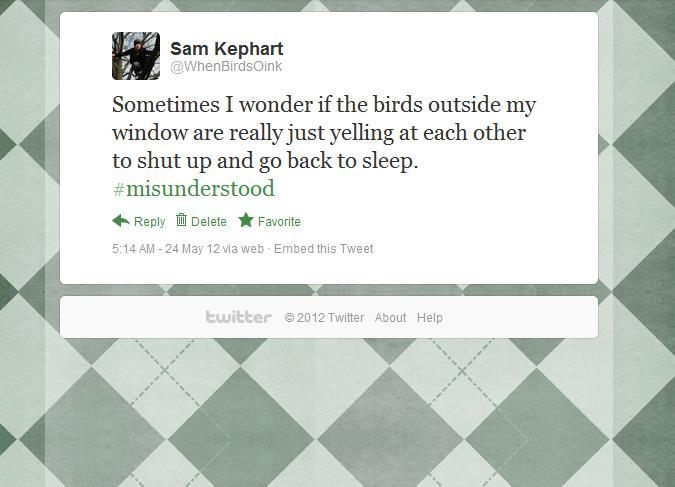 birds tweet