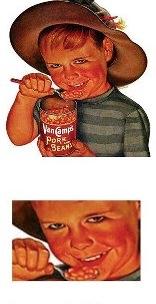 creepy beans ad