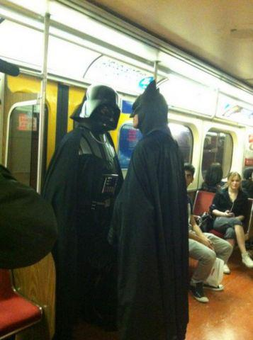 darth adn batman