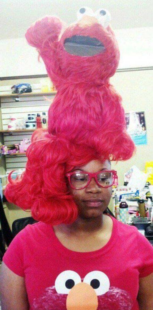 elmo hair