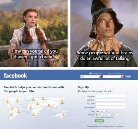 facebook talking