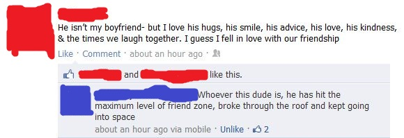 friendzone facebook