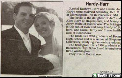 hardy harr wedding