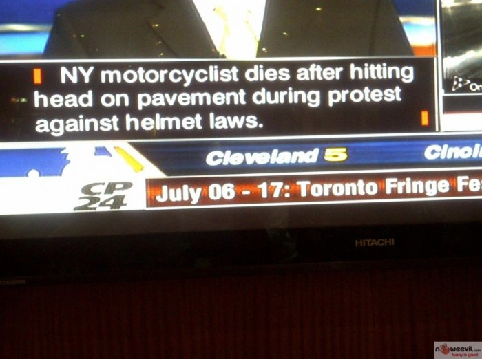 helmet law protest