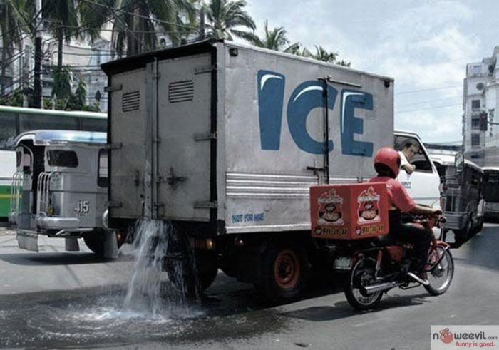 ice truck