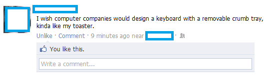 keyboard facebook