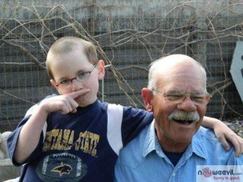 kid mustache