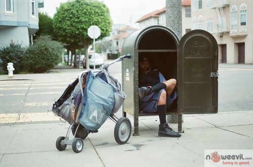 mailman in box