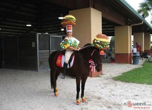 mcdonalds horse