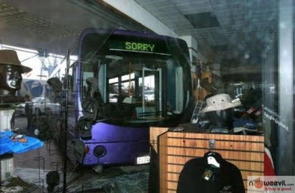 sorry bus crash