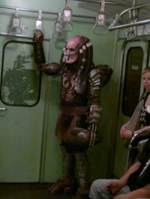 subway predator