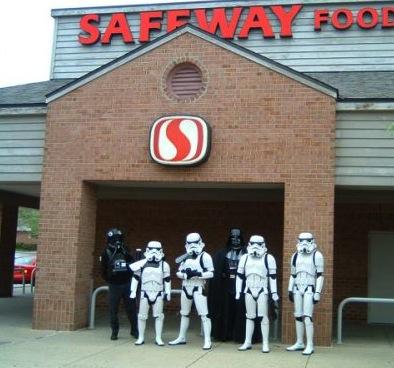 trooper at safeway