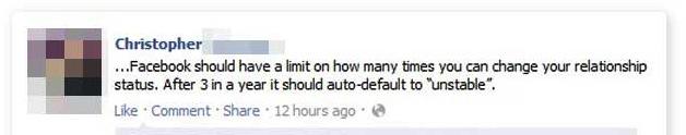 unstable facebook