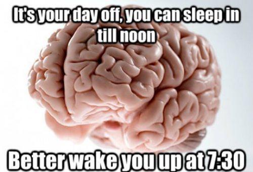 wake you up at 7