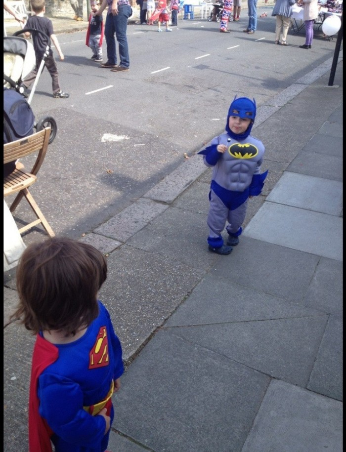 batman and superman kids