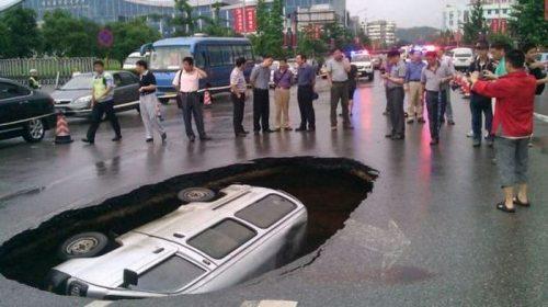 car hole