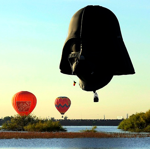 darth balloon