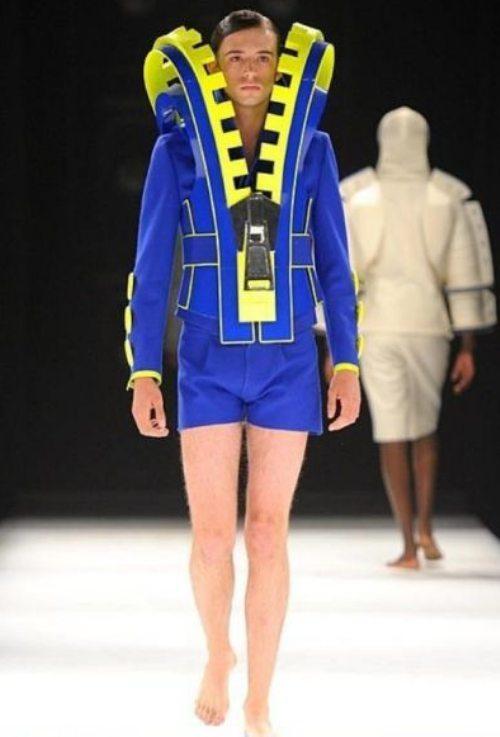 zipper fashion