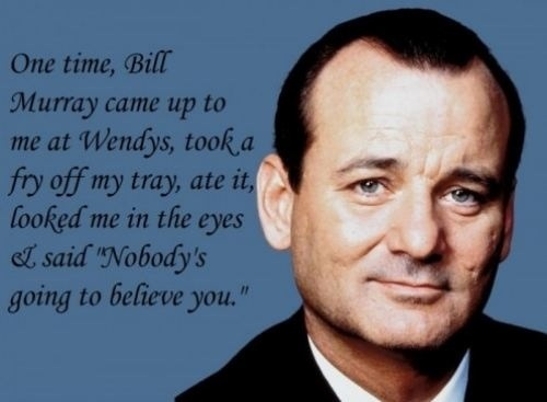 bill murray fry