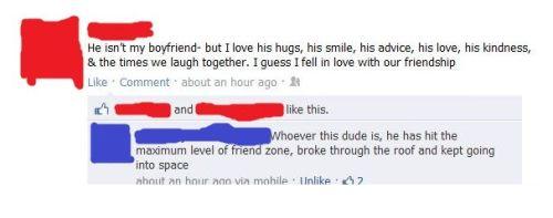 friendzone facebook