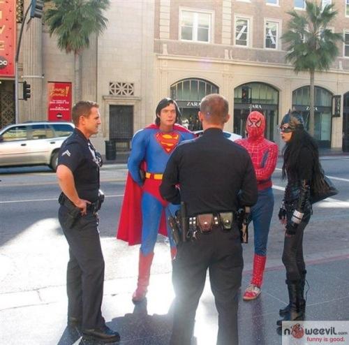 arresting superman